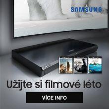Užijte si filmové léto s UHD BR přehrávači Samsung