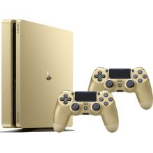 Sony PlayStation 4 SLIM 500GB zlatá