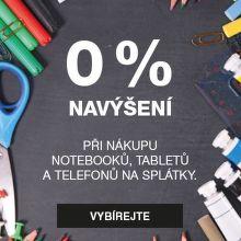 Splátky s 0% navýšením na notebooky, tablety a mobily