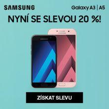 Nákupy Ona Dnes - sleva 20 % Samsung Galaxy A3 a A5