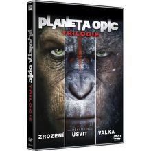 Trilogie: Planeta opic - 3xDVD