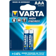 Varta High Energy AAA LR03 4903/2, 2ks