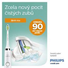 Záruka vrácení peněz 90 dní na zubní kartáčky Philips