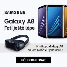 Dárek k předobjednávce Samsung Galaxy A8 (2018)
