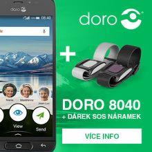 SOS náramek jako dárek k mobilu Doro 8040
