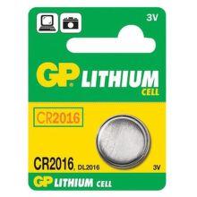 GP baterie CR-2016 1Ks - líthiová knoflíková baterie