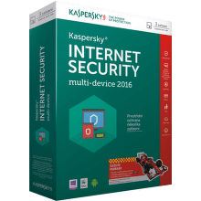 Kaspersky Internet Security MD 2016 pro 4 PC /12 měsíců,  nová licence