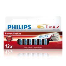 Philips Power Alkaline AA (LR6), 12ks