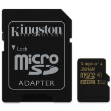 Kingston 32GB MIKRO SDHC Card Class 10