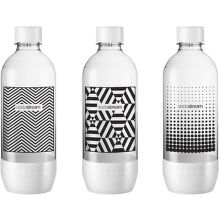 Sodastream Tripack čierna/biela náhradní láhev (1l/3ks)