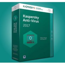 Kaspersky Anti-Virus 2017 1PC/12 měsíců