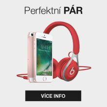 Perfektní pár - iPhone SE a sluchátka Beats EP