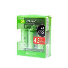 GP Recyko 2700 R06 4+2, Baterie