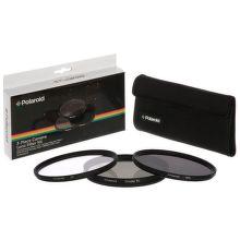 Polaroid 62mm UV MC, CPL, ND9 Filtr kit 3ks