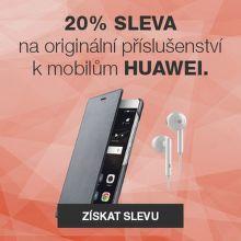 20% sleva na originální příslušenství Huawei
