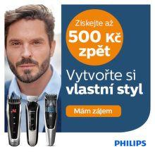 Cashback až 500 Kč na zastřihovače Philips