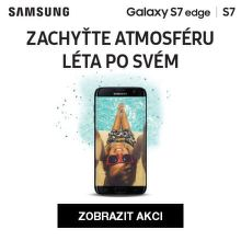 Cashback 3 500 Kč na Samsung Galaxy S7 / S7 edge