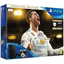 Sony PlayStation 4 Slim 1TB černý + FIFA18 Ronaldo Edition + PS Plus 14 dní
