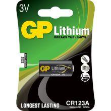 GP baterie CR-123A - líthiová baterie