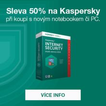Antivir Kaspersky s 50% slevou