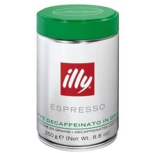 Illy Zrnková káva decofein 250 g - 100% arabica