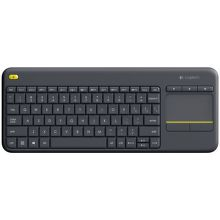 Logitech Wireless Touch Keyboard K400 Plus černá