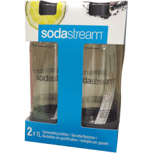 Sodastream Duo Pack šedá náhradní láhev (1l / 2ks)