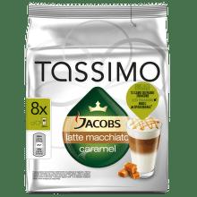 TASSIMO Latte Macchiato Caramel - kapslová káva pro kávovary Tassimo