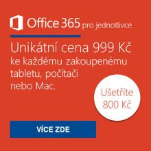 Office 365 se slevou za 999 Kč