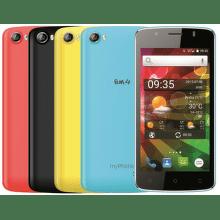 MyPhone FUN 4 (černý) + 4 barevné kryty