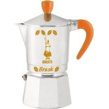 BIALETTI Break 3 (oranžová) - Moka kávovar
