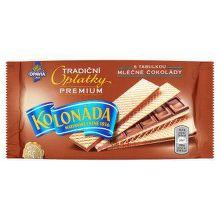Milka TAS0120577 Tradiční oplatky premium plněné tabulkou mléčné čokolády