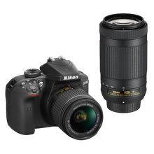 Nikon D3400 + AF-P DX 18–55 f/3,5–5,6G VR + 70–300 f/4,5–6,3G ED VR