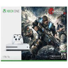 Microsoft Xbox One S 1 TB (bílá) + Gears of War 4