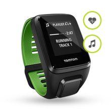 TOMTOM SPORTS Runner 3 L Cardio+Music (černo - zelené)