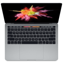 "Apple MacBook Pro 13"" Touch Bar 256GB (šedá), MLH12CZ/A"