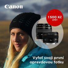 Jarní Cashback na objektivy Canon