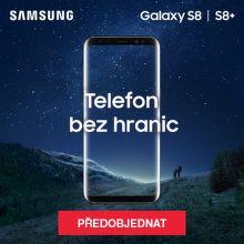 Mějte Samsung Galaxy S8 nebo S8+ jako první!