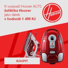 Dárek zdarma k vysavači Hoover AC70