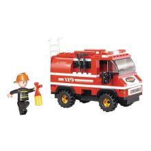 Sluban hasičské mini vozidlo 133 dílů