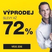 Výprodej - slevy až 72 % na tisíce produktů