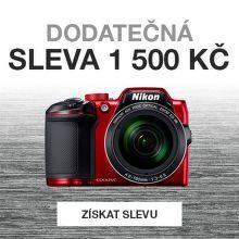 Sleva 1 500 Kč na foťák Nikon Coolpix B500