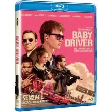 Baby Driver - Blu-ray film