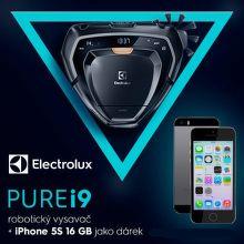 iPhone k robotickému vysavači Electrolux Pure i9