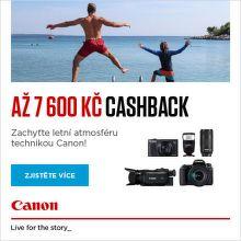 Letní Cashback Canon