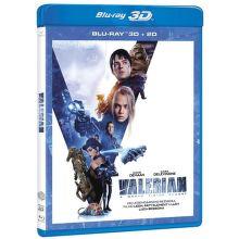 Valerian a město tisíce planet - Blu-ray (3D + 2D)