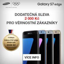 Sleva 2 000 Kč na Samsung Galaxy S7 edge pro Věrnostní zákazníky