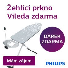 Dárek k vybraným žehličkám Philips
