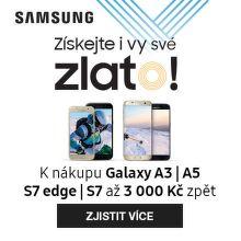 Cashback až 3 000 Kč na mobily Samsung Galaxy