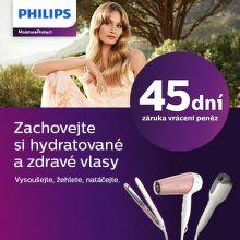 45 dní záruka vrácení peněz na péči o vlasy Philips